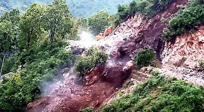 gulmi landslides