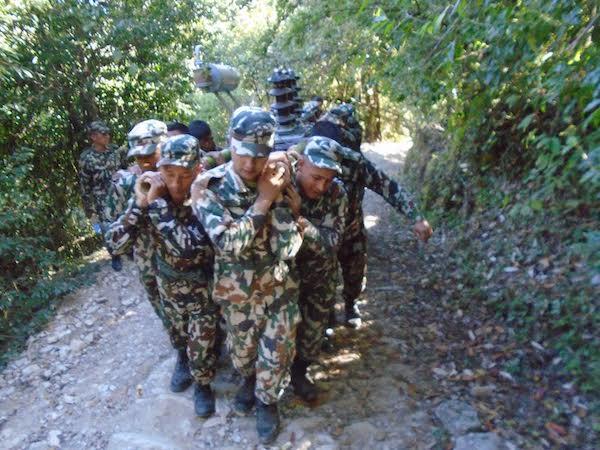 nepal army in gulmi
