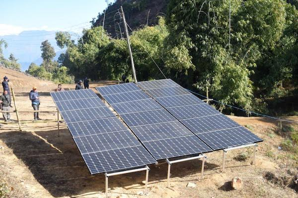 solar water lifting gulmi