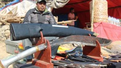 Photo of रिडि मेलामा बेच्न राखियो नेपालकै सबैभन्दा ठुलो खुकुरी, मुल्य १ लाख रुपैँया