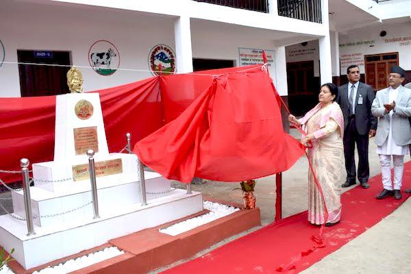 bidhya bhandari in musikot
