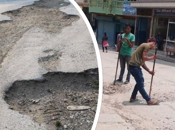gulmi tamghas road news