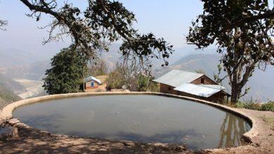 """Photo of """"जमिन रिचार्ज"""" गर्न एक गाउँ एक पोखरी निर्माण गरिँदै, ३६ लाख रुपैयाँ बजेट छुट्टाईयो"""