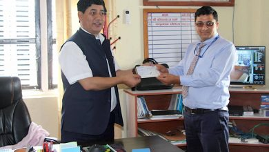 Photo of तम्घास बजारमा बिभिन्न ठाउँमा सिसीटिभी जोडीने, गण्डकी बैंकले गर्यो सहयोग