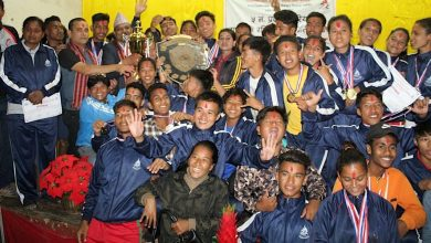 Photo of प्रदेश ५ स्तरीय राष्ट्रपती रनिङ शिल्ड प्रतियोगितामा गुल्मी १० औँ, अन्तिमबाट तेस्रो
