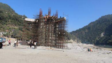 Photo of अलपत्र तिनमुखे पुलको तिब्र गतिमा काम