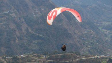Photo of गुल्मीको बाँझकटेरीमा प्याराग्लाइडिङ्गको सफल परिक्षण