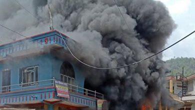 Photo of शान्तिपुर बजारमा आगलागी, एकको मृत्यु, तीन घाइते