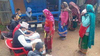 Photo of रिघामा सामाजिक सुरक्षा भत्ता वितरण