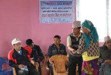 Photo of प्रवासीको गाउँले मोह, पहिरो पीडितलाई चार लाख ३९ हजार सहयोग