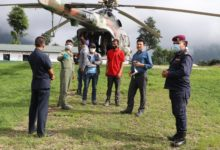Photo of पुर्व मन्त्री बिष्टद्धारा हेलिकप्टर मार्फत घाइतेको उद्धार