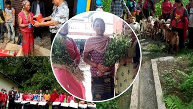 """Photo of गुल्मीका ७ स्थानीय तहमा """"गरिबसँग बिशेश्वर कार्यक्रम"""", १६१३ परिवार लाभान्वित"""