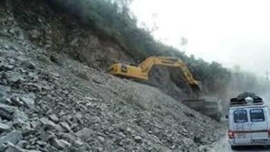 Photo of रुद्रवेणी-वामीटक्सार सडक अवरुद्ध
