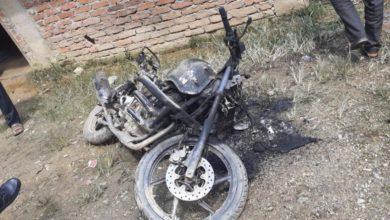 Photo of अज्ञात समुहद्धारा मोटरसाइकलमा आगजनी