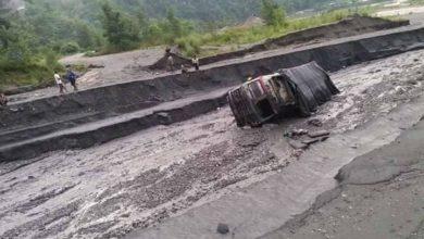 Photo of गुल्मीमा पहिरोले ट्रक बगायो