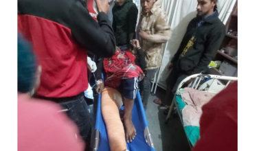 Photo of मोटरसाईकल दुर्घटना हुँदा काठमाडौंबाट घुम्न आएका एक जना घाईते, हेलिकप्टर मार्फत उद्धार