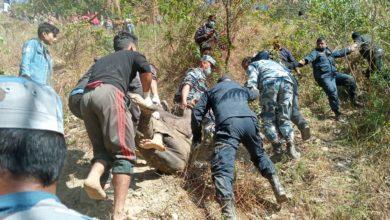 Photo of गुल्मीमा जीप दुर्घटनामा मृतकको संख्या ६ पुग्यो, २ घाइते