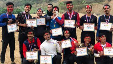 Photo of छत्रकोटमा आयोजित क्रिकेट प्रतियोगिताको उपाधी रुपाकोट स्पोर्टस क्लबलाई